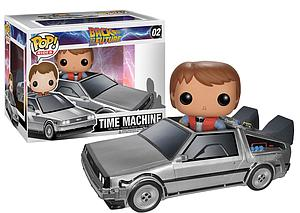 Pop! Rides Movies Back to the Future Vinyl Figure Delorean Time Machine #02 (Retired)