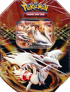 Pokemon Trading Card Game Black & White Spring 2012 EX Collector's Tins: Reshiram