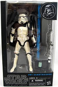 Star Wars Legends The Black Series: Sandtrooper #01