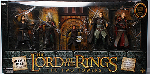 Lord of the Rings The Two Towers 5-Pack Set: Helm's Deep Battle Set