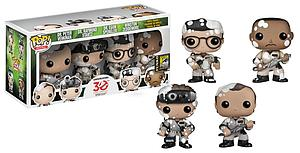 Pop! Movies Ghostbusters Vinyl Figure SDCC Exclusive 4-Pack