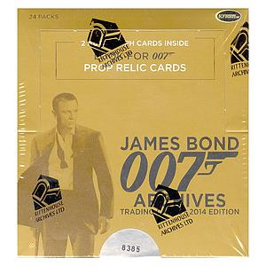 James Bond Archives Booster Box