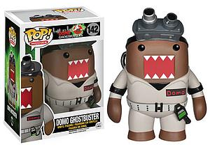 Pop! Movies Domo Ghostbusters Vinyl Figure Domo Ghostbuster #142 (Retired)