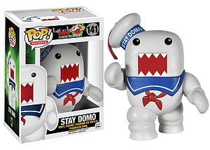 Pop! Movies Domo Ghostbusters Vinyl Figure Stay Domo #141 (Retired)