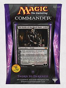Magic the Gathering: Commander 2014 - Sworn to Darkness Deck (Black)