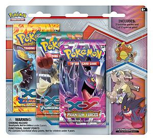 Pokemon TCG Mega Evolution Collector's Kangaskhan Pin 3 Packs