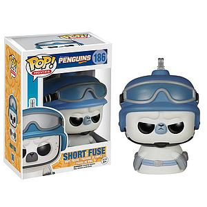 Pop! Movies Penguins of Madagascar Vinyl Figure Short Fuse #165 (Sale)