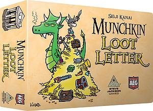 Love Letter: Munchkin Loot Letter (Boxed Version)