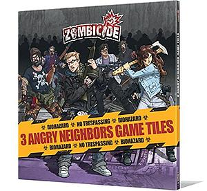 Zombicide: 3 Angry Neighbors Tiles Pack