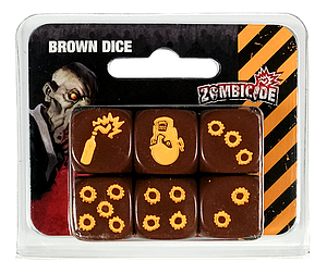 Zombicide: Brown Dice