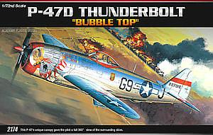 "P-47D Thunderbolt ""Bubble Top"" (ACA12491)"