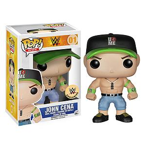 Pop! WWE Vinyl Figure John Cena (Green & Black Hat) #01 WWE Exclusive