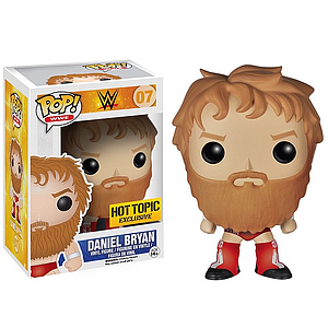 Pop! WWE Vinyl Figure Daniel Bryan #07 Hot Topic Exclusive