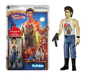 ReAction Figures Big Trouble in Little China Series Jack Burton