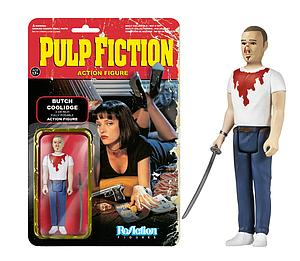 ReAction Figures Pulp Fiction Movie Series Butch Coolidge (Retired)