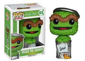 Pop! Television Sesame Street Vinyl Figure Oscar the Grouch #03
