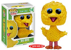 Pop! Television Sesame Street Vinyl Figure Big Bird #10 (Retired)