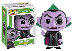 Pop! Television Sesame Street Vinyl Figure The Count #07 (Retired)