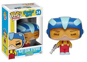 Pop! Animation Family Guy Vinyl Figure Ray Gun Stewie #34 (Vaulted)