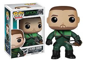 Pop! Television Arrow Vinyl Figure Oliver Queen #206 (Sale)