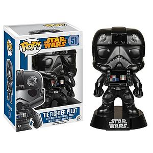Pop! Star Wars Vinyl Bobble-Head Tie-Fighter Pilot #51 (Retired)
