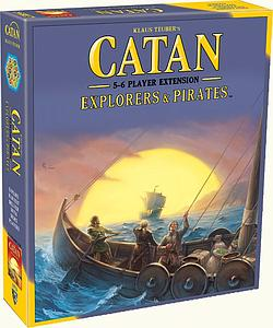 Catan: Explorers & Pirates 5-6 Player Extension (5th Edition)