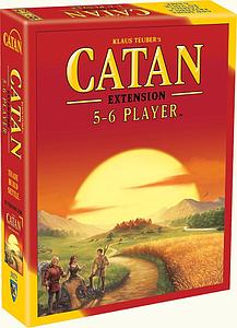 Catan 5-6 Player Extension (Fifth Edition)