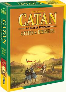 Catan: Cities & Knights 5-6 Player Extension (Fifth Edition)