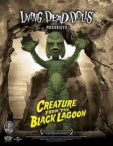 Living Dead Doll Universal Horror Series: Creature from the Black Lagoon