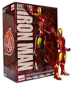 Avengers Marvel Now! 1/10 Scale ArtFX+ Statue: Iron Man Red & Gold