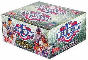2015 MLB Opening Day Baseball: Hobby Box (36 Packs)