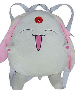 "Plush Toy Tsubasa 12"" White Backpack"