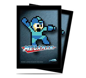 Deck Protectors: Mega Man 50 Standard Size Card Sleeves