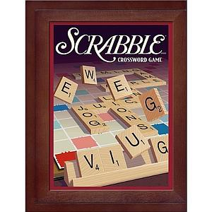 Scrabble (Vintage Wood Box)
