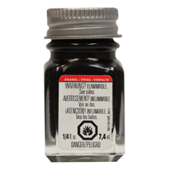 Testors Gloss Black Enamel Model Paint (TES1147)