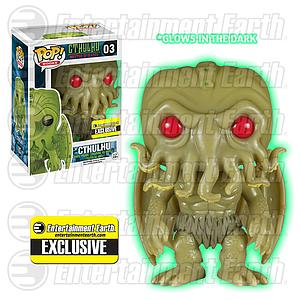 Pop! Books Cthulhu Master of R'lyeh Vinyl Figure Cthulhu #03 Entertainment Earth Exclusive