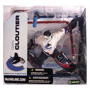 NHL Sportspicks Series 5 Dan Cloutier (Vancouver Canucks) White Jersey Variant
