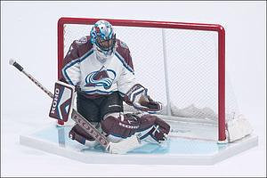 NHL Sportspicks Series 6 Patrick Roy (Colorado Avalanche) White (White Undershirt)