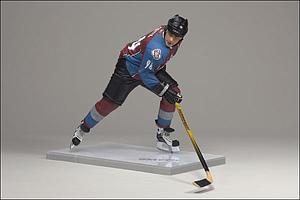 NHL Sportspicks Series 19 Ryan Smyth (Colorado Avalanche) Maroon Jersey