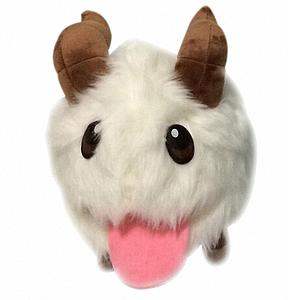 "League of Legends Plush Poro (8"")"