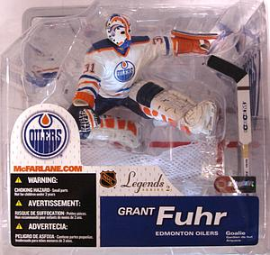 NHL Sportspicks Legends Series 2 Grant Fuhr (Edmonton Oilers) White