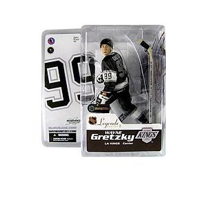 NHL Sportspicks Legends Series 2 Wayne Gretzky (Los Angeles Kings) Black Jersey Variant