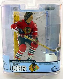 NHL Sportspicks Legends Series 5 Bobby Orr (Chicago Blackhawks) Red