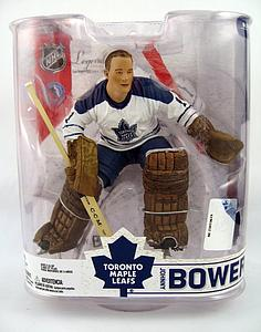 NHL Sportspicks Legends Series 6 Johnny Bower (Toronto Maple Leafs) White Jersey Variant