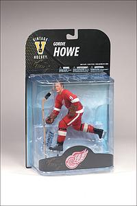 NHL Sportspicks Legends Series 7 Gordie Howe (Detroit Red Wings) Red