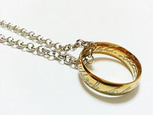 Lord of the Rings Necklace With the One Ring