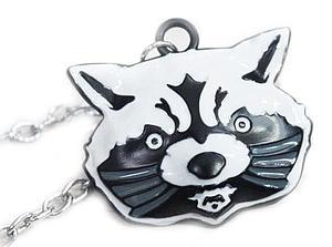 Guardians of the Galaxy Necklace Rocket Raccoon