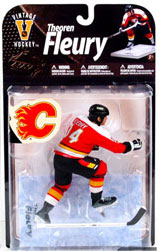NHL Sportspicks Legends Series 8 Theoren Fleury (Calgary Flames) Red