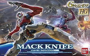 Gundam High Grade Reconguista in G 1/144 Scale Model Kit: #010 Mack Knife (Mask Custom)