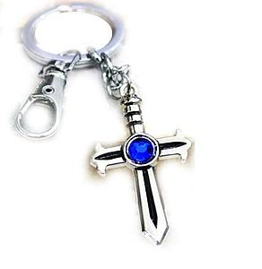 Fairy Tail Keychain Cross